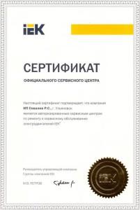 Авторизованный сервисный центр по ремонту и сервисному обслуживанию электродвигателей IEK
